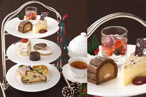 クリスマスアフタヌーンティー - ホテル日航東京「ベランダ」