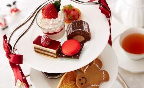 ホテル日航東京・クリスマスアフタヌーンティー