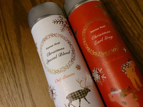 シェドゥーブル・クリスマス限定紅茶