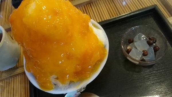 京都みつばち・特製あんず氷
