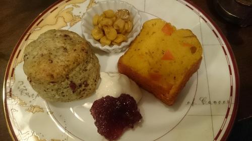 ジークレフ・アリスのアフタヌーンティ・食べ物