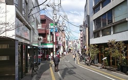 松陰神社前駅・商店街
